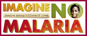 Imagine No Malaria logo image