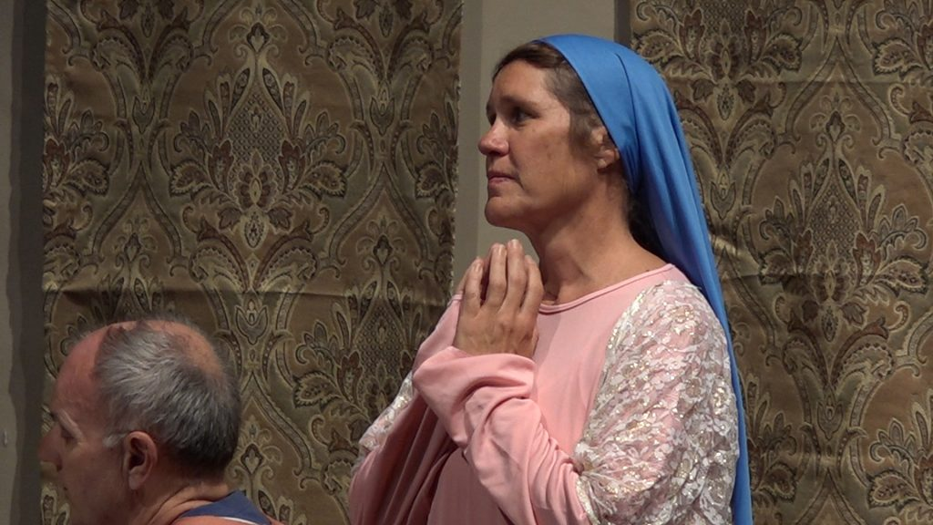 Mary Magdalene, played by Karen Suppes.