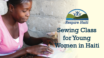 Sewing Classes Help Young Women in Haiti Earn Employable Skills