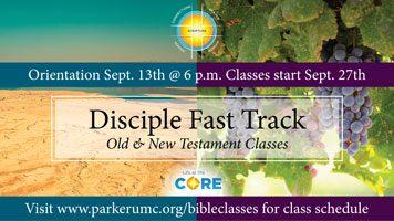 Bible Exploration Classes Beginning in September